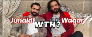Waqar Zaka just patched things up with Junaid & it's the Most unusual thing you'll see Today