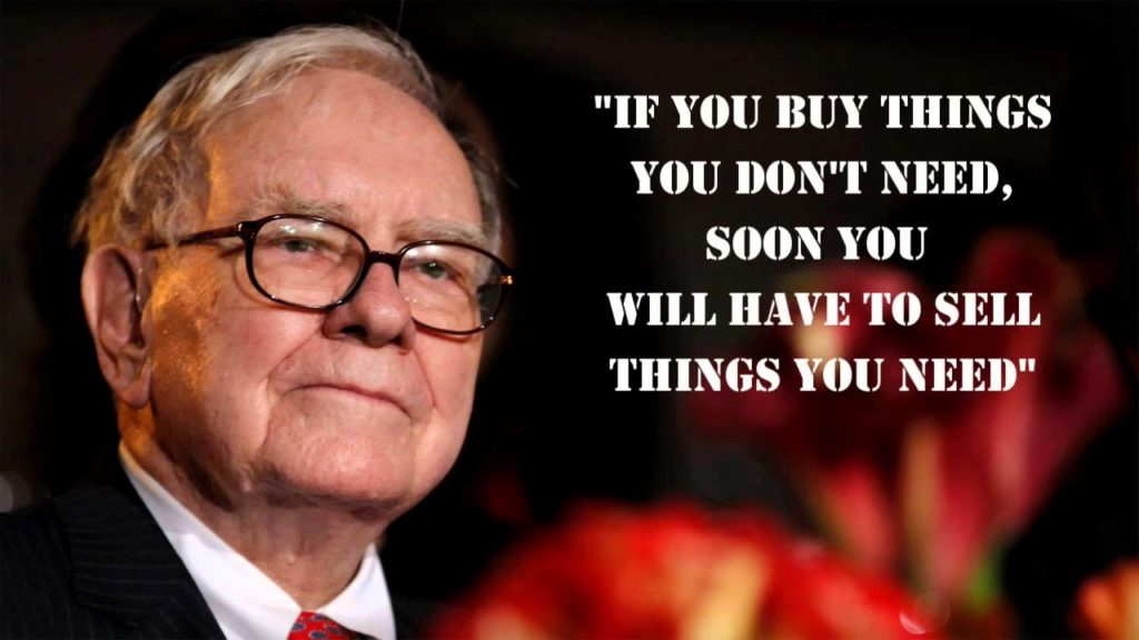Warren Buffett advice