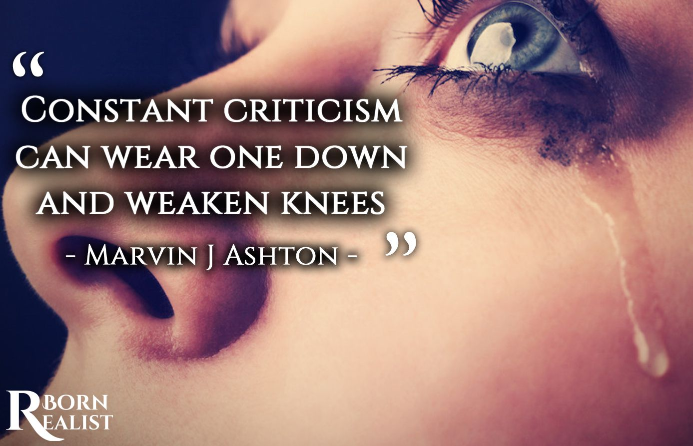 criticize others