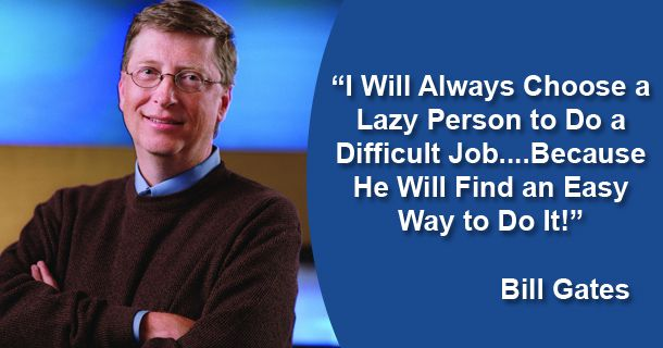 bill-gates-lazy-quote | Born Realist bornrealist.com610 × 320Search by image