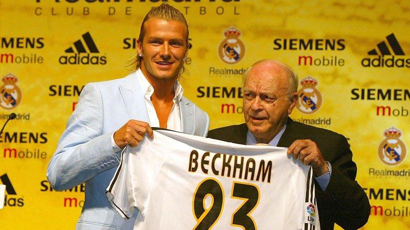 David Beckham life