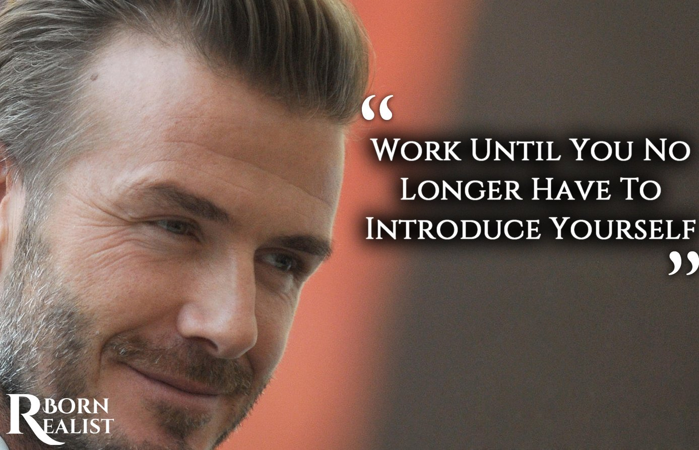 David Beckham biography
