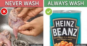 5 Foods You Should Never Ever Wash Before Cooking & 5 That You Always Should