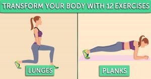 These 12 Simple Exercises Will Help You Attain Shocking Transformation