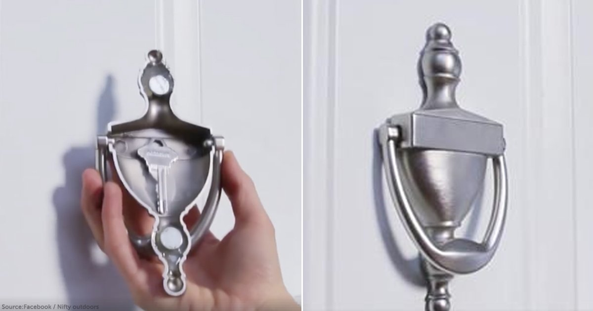 10 Brilliant Ideas For Hiding Your Spare Key Outside Your Home