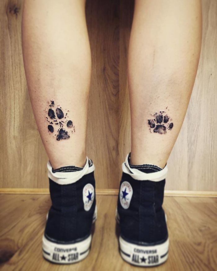 Pawprint Foot Tattoo: Here Are Some Pictures That Prove Dog Paw Prints Make The