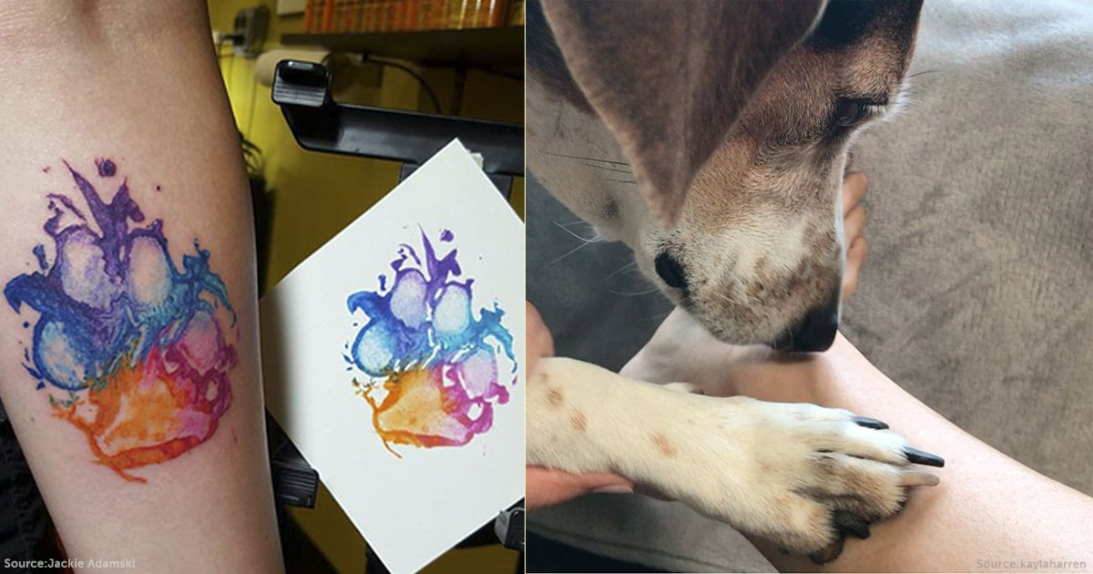 Here Are Some Pictures That Prove Dog Paw Prints Make The