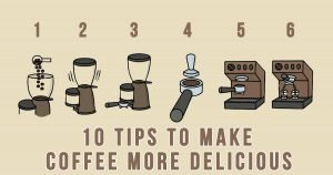 Here Are 10 Tips To Make Coffee More Delicious