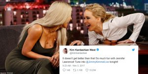 Jennifer Lawrence Roasted Kim Kardashian on Her Relationship With Blac Chyna