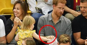 This Toddler Steals Prince Harry's Popcorn Until He Finally Notices, And His Reaction Is Epic