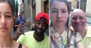 This Woman Started Taking Selfies With The Cat-callers After Being Tired Of Getting Catcalled And Th...
