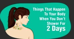 Gross Things That Happen to Your Body When You Don't Shower for 2 Days!