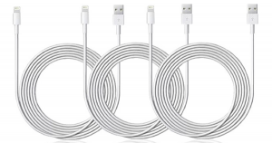 Charge Anywhere with the 10-Ft MFi-Certified Lightning Cable!