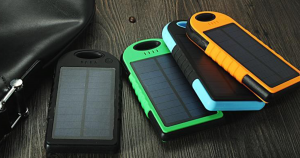 Go Natural With Your Charging With The Universal Waterproof Solar Charger!