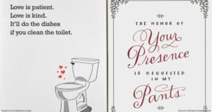Hilarious Valentine's Day Card For Those Who Hate Lovey Dovey Stuff