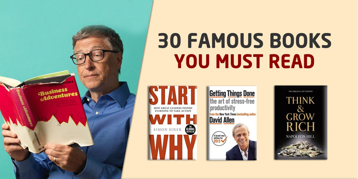 30 Famous Books that You Will Regret Not Reading!