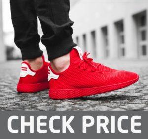 Best Red sneakers - Adidas Men's Pw Tennis Hu Sneaker
