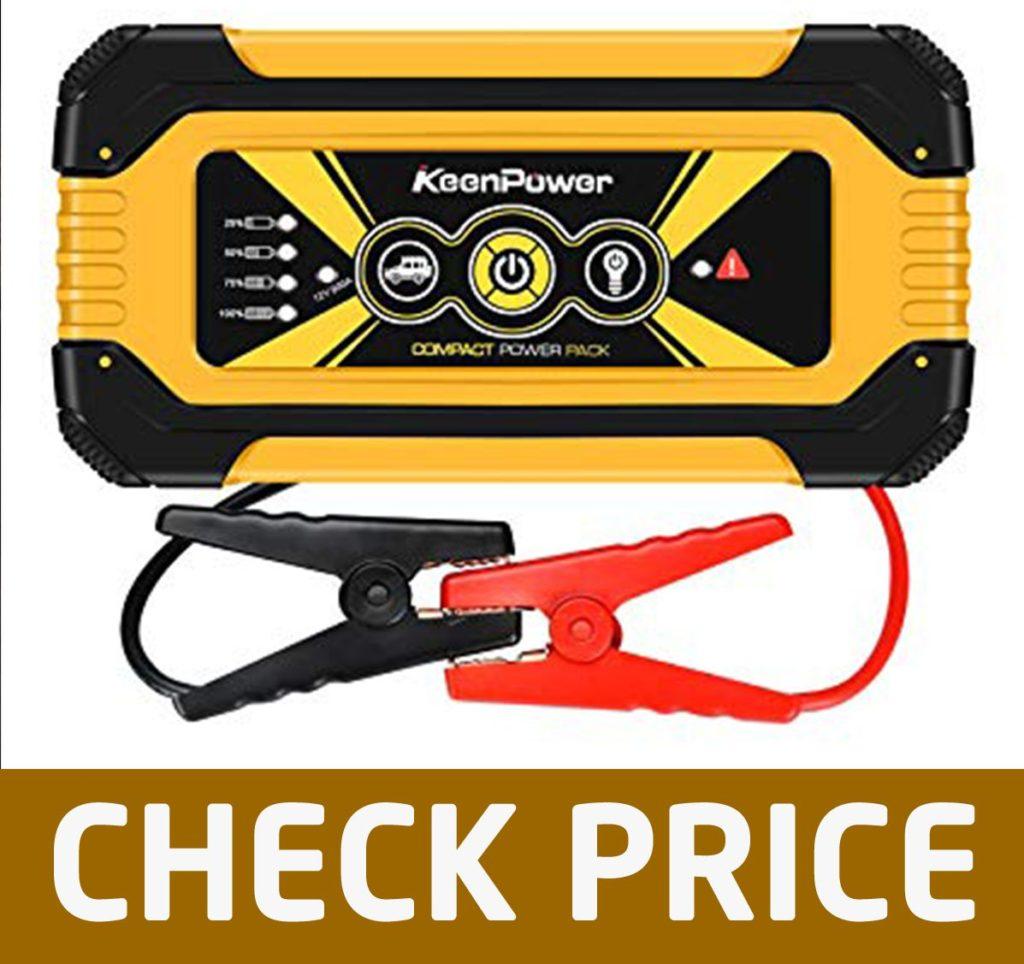 Keenpower 900A 18000mAh Portable Car Jump Starter