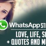 WhatsApp Status for me
