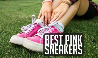 best pink sneakers 2018