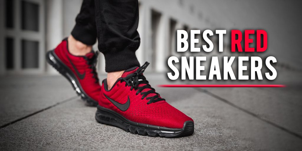 b5a23740fff 10 Best Red Sneakers to Get in 2019  Reviews With Photos
