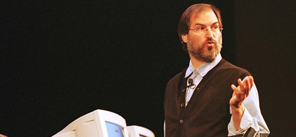 steve jobs talking 1997