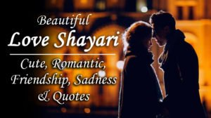 500+ Love Shayari Sad, Cute, Beautiful & Romantic (Latest Collection)