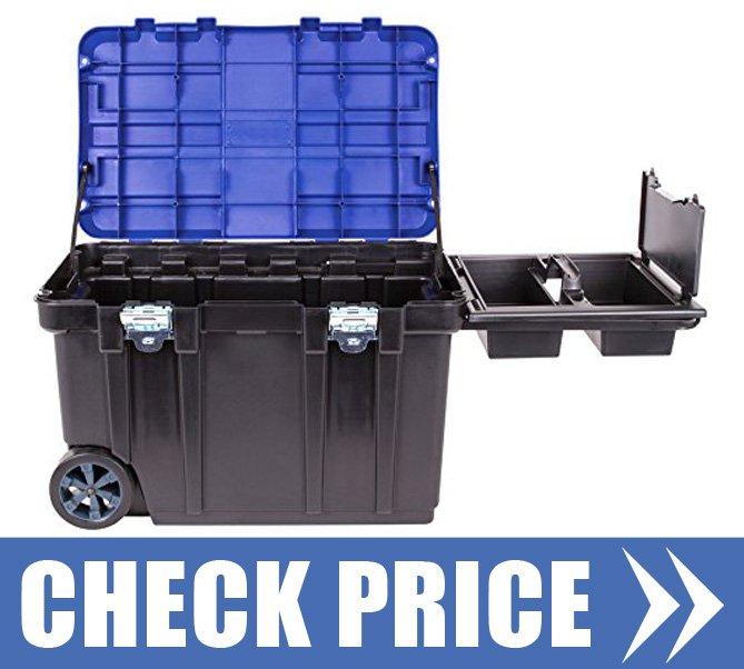 Lockable Wheeled Tool Box: