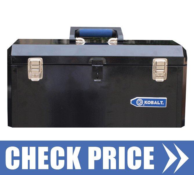 kobalt portable tool box