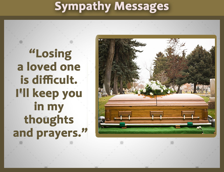 sympathy messages