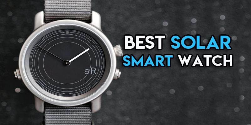solar smart watch 2019