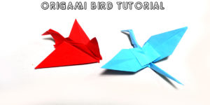 Quick and Easy Origami Bird Instructions