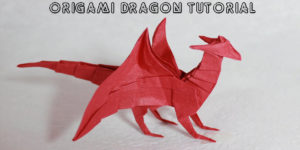 Master The Origami Dragon In A Few Simple Steps!
