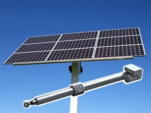 Electric Linear Actuators for Solar Tracking