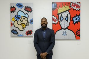 Tysen Knight is Creating Art In California While Giving Back!